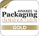 Packaging Innovation Awards 2016 - Gold Prize